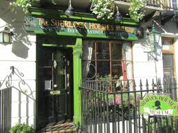 sherlock holmes museum totally london au enansicht des entrance of the sherlock holmes museums at baker street 221b