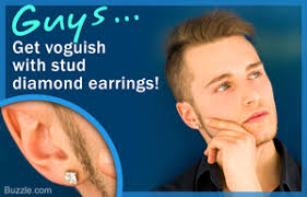 guys with diamond earrings 9 types of earrings for guys to give them a cool sturdy look
