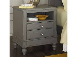 Nightstand With Shelf Ne Lake House 2 Drawer Nightstand With Open Shelf Darvin