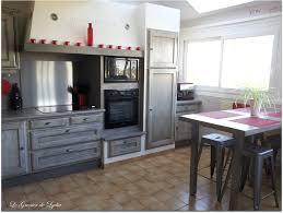 relooker cuisine bois relooking cuisine rustique modèle argileo