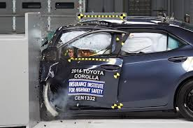 koenigsegg crash test report toyota reworking corolla to improve iihs crash rating