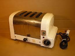 Duralit Toaster 4 Slice Auto 4 Dualit Toaster Chrome White Retro Vintage London