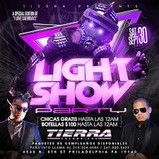 philadelphia light show 2017 light show party tierra nightclub