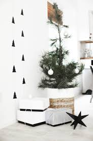 scandinavian christmas tree christmas lights decoration