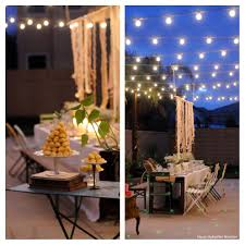 Backyard Lighting Ideas For A Party by Backyard Party Decorations Ideas Backyard Decorations By Bodog