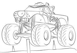 coloring page attractive trucks to colour in cool big coloring