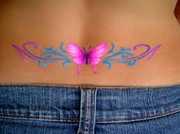 lower back tribal butterfly ideas design idea for and