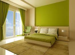 interior decoration bedroom green