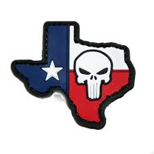 American Flag Morale Patch Texas State Flag With Punisher Pvc Morale Patch Neo Tactical Gear