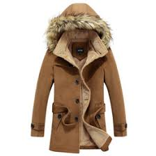 black friday winter jackets discount trench coat men black fur 2017 trench coat men black
