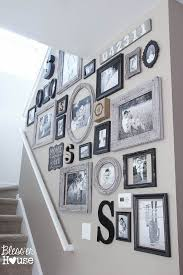 best 25 stair wall decor ideas on picture wall