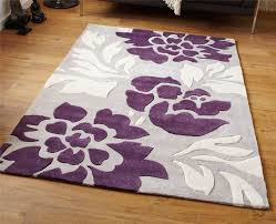 Black And Purple Area Rugs Amazing Grey And Purple Area Rug Roselawnlutheran In Purple And