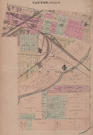 Canton Ohio Map by Canton Ohio Railroads