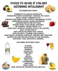 histamine intolerance healthy yumminess pinterest stomach
