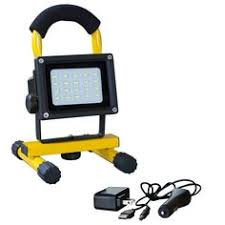 battery powered work lights powersmith pwlr1110m rechargeable 10w 900 lumen lithium ion battery