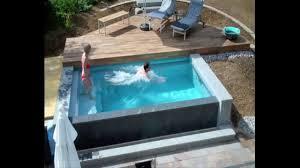 Garten Pool Aufblasbar Schwimmbadbau Dokumentation Eines Pool Im Garten Im Zeitraffer