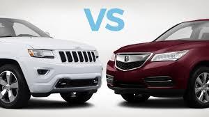 Acura Mcx To Buy Jeep Grand Vs Acura Mdx Carmax