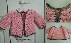 crochet baby sweater pattern abigail baby cardigan cre8tion crochet