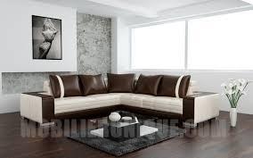 canape d angle chocolat canapé d angle design en cuir italien matt 2 à prix d usine