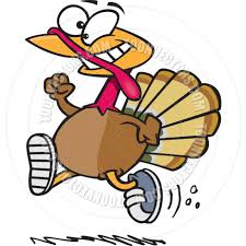 running turkey trot clipart panda free clipart images