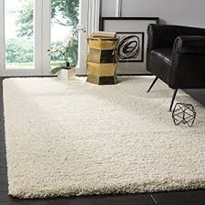 Ivory Area Rug Safavieh California Premium Shag Collection Sg151 1212