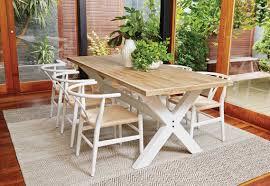 x leg dining table rodin x leg dining table veranda home garden