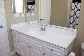 bathroom mirror frame diy home design ideas