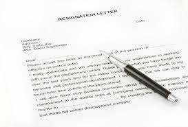 how to write a resignation letter easyday