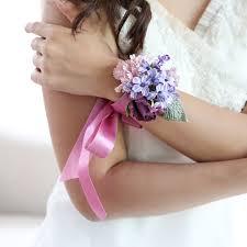 handmade flower bracelet images Lavender love handmade paper flower bracelet posie flowers jpg