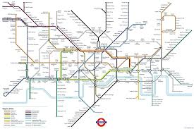 London Metro Map by Geofftech Tube Silly Tube Maps