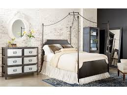 Iron Canopy Bed Frame Bedroom Magnolia Home Cathedral Iron Canopy Bed