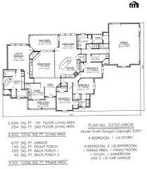 100 4 bedroom 1 story house plans nobby design 2 story