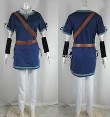 Zelda Halloween Costumes Shop Legend Zelda Link Blue Cosplay Costume