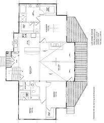 floor log mansion floor plans