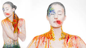 color splash bodypainting behind the scenes photo shoot youtube