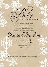 please join us for a celebartions winter baby shower invitations