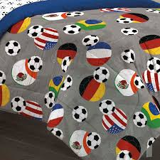 Bed In A Bag Sets Full by Usa U0026 World Soccer Bedding Twin Full Queen Comforter Set Bed In A