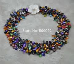 colored pearl necklace images Buy blister pearl necklace and get free shipping on jpg