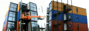 Shipping Container Apartments Developer Building Apartments Out Of Shipping Containers