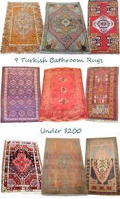 Kilim Bath Mat 9 Turkish Bathroom Rugs 200 Design Manifestdesign Manifest