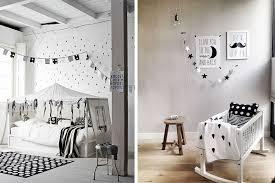decor chambre enfant chambre enfant déco en noir et blanc le monde de sioux