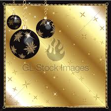 black gold ornaments gl stock images