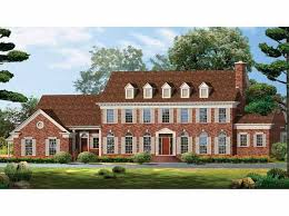 brick colonial house plans 107 best house plans images on home plans square