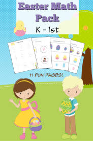 Worksheets For Kindergarten Printable Easter Themed Kindergarten Math Worksheets Frugal Mom Eh
