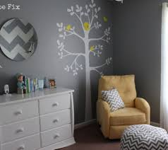 Gray And Yellow Nursery Decor Nursery Color Tours 21 Yellow Baby Rooms Disney Baby