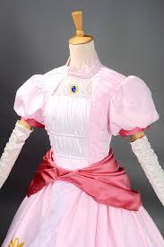 Mario Womens Halloween Costume Aliexpress Buy Princess Peach Costume Women Halloween