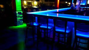 Man Cave Led Lighting by Bar And Nightclub Led Lighting Ideas Youtube