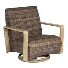 Swivel Wicker Patio Furniture by Woodard Reynolds Swivel Lounge Chair S505015