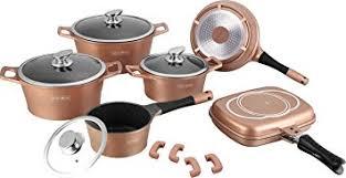 batterie de cuisine en cuivre batterie de casseroles professionnelle royalty line en de