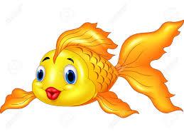 gold fish cartoon images